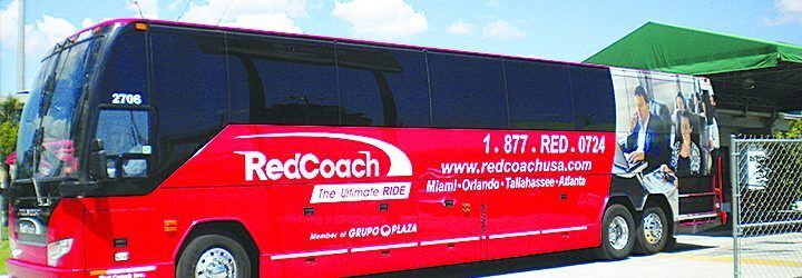 RedCoach brings affordable first-class luxury travel to Florida
